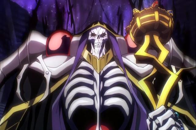 Overlord adalah anime bertemakan game terbaik