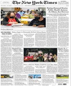 The New York Times Magazine 14 November 2020 | The New York News | Free PDF Download