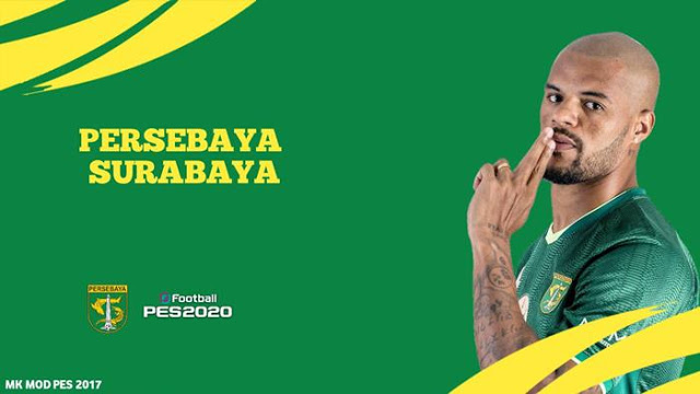 PES 2017 Graphic Menu Persebaya Surabaya