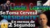 ELADIO CARRION TOMANDO CERVEZA DE RESIDENTE EN MENOS DE 2 SEGUNDOS