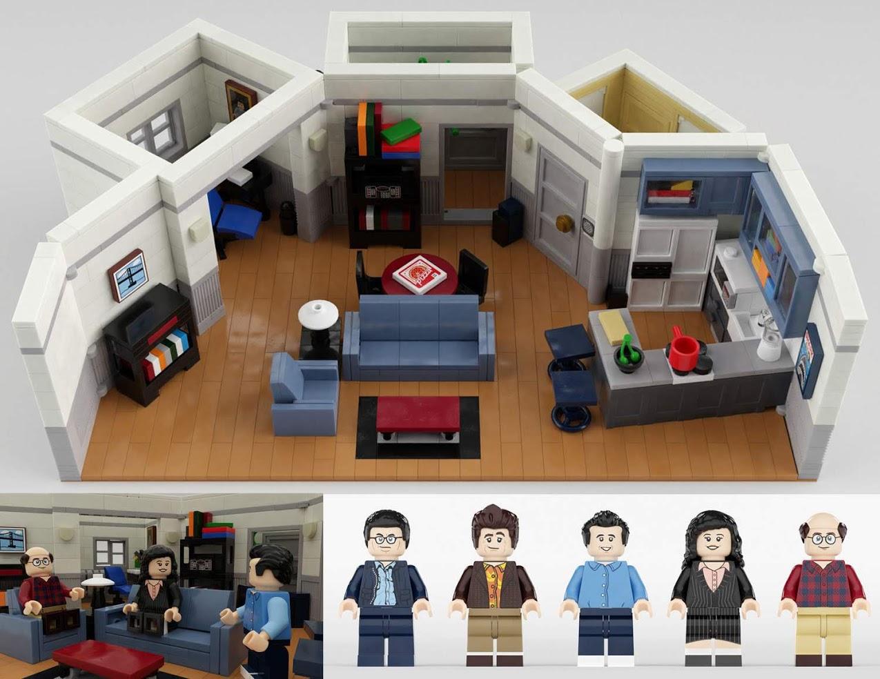 LEGOアイデア・となりのサインフェルド:Seinfeld 30th Anniversary