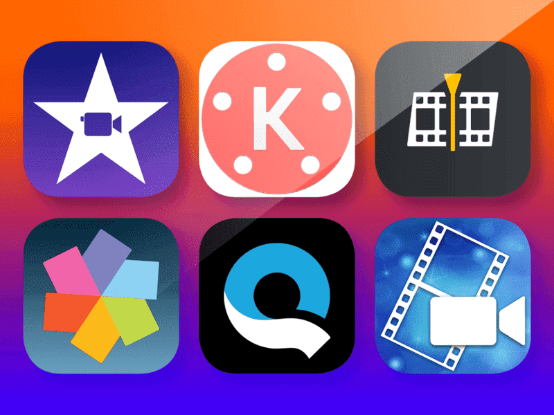 Video Maker app for editing and creating different videos