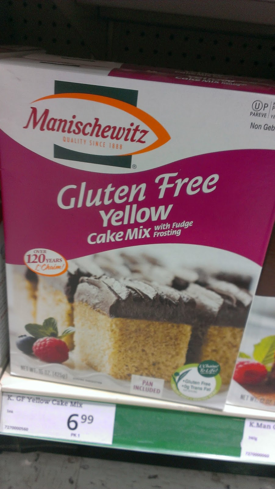 Last Call for Gluten Free Passover a Hawkestone Sobey's