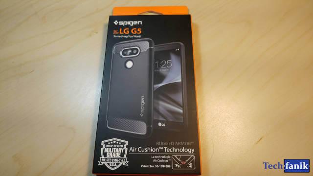 Spigen Rugged Armor LG G5 Opakowanie