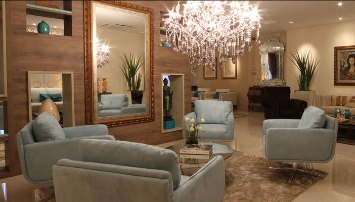 Quem casa quer casa ou ap for Lustres para sala de estar