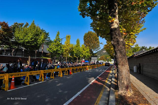Đường phố Seoul mùa thu