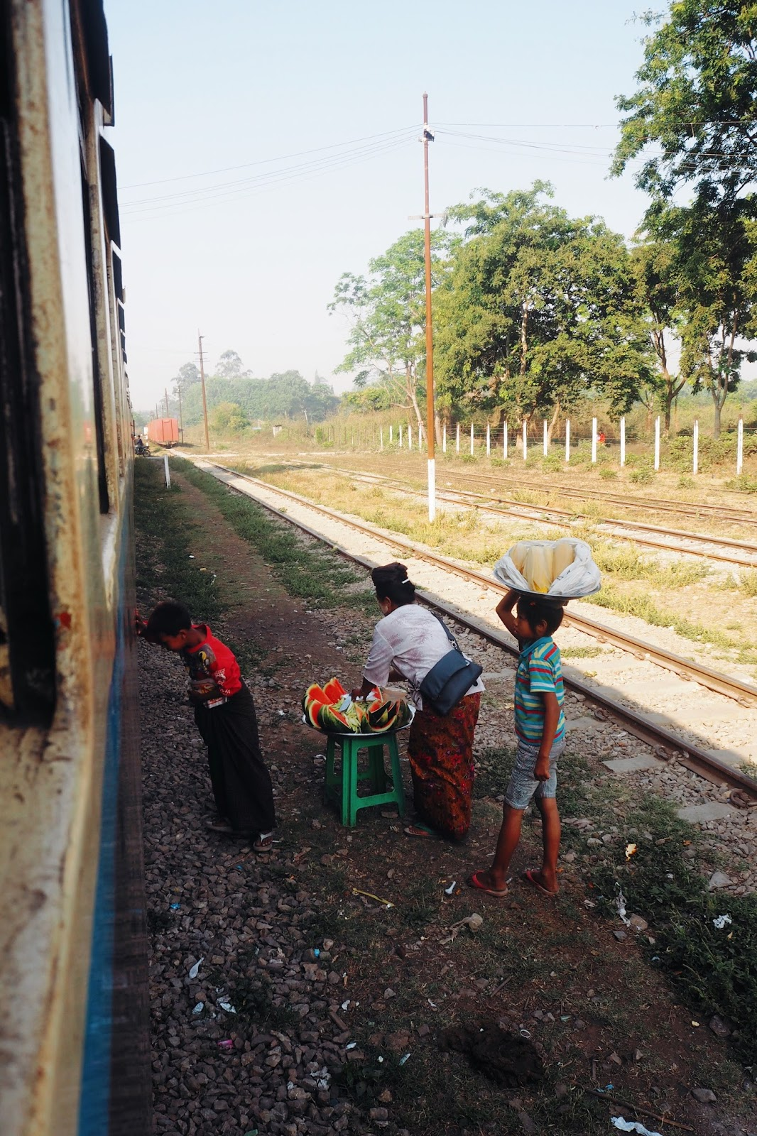 Train to Hsipaw Myanmar