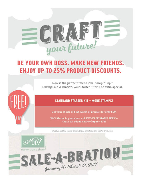 Linda Vich Creates: Sale-A-Bration: A Big Opportunity For You!