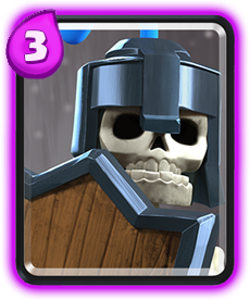 Carta Guardas de Clash Royale - Wiki da Carta