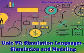 Unit VI: Simulation Languages - Simulation and Modeling
