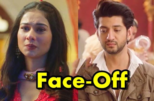 Face-Off : Pranati Archit's wedding mandap caught fire finally Reyansh Pranati face off in Pavitra Bhagya