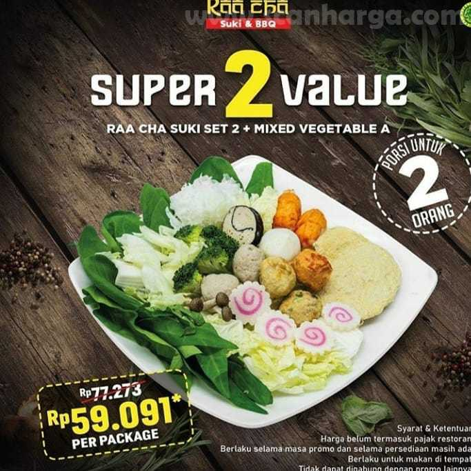 Promo Raa Cha Suki Paket Super Value 27 Juli - 31 Agustus 2020 2