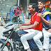 यातायात नियमों की धज्जियां उड़ा रहे छात्र,झुंड के साथ निकलते हैं बाइक सवार छात्र, सरपट दौड़ाते हैं वाहन