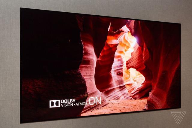tivi siêu mỏng của LG tại CES2017 - 1