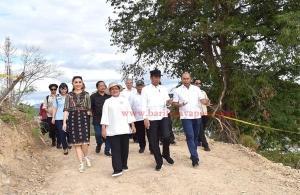 Presiden Tinjau Puncak Waringin dan Kawasan Terpadu Marina yang akan Jadi Area Wisata Baru di Labuan Bajo