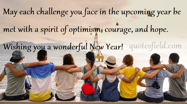 Happy New Year Quotes For Friendship
