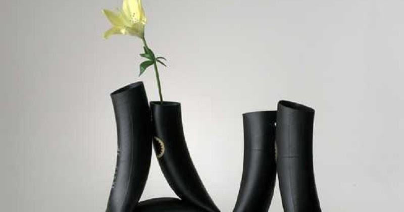 Cara Membuat Vas Bunga Dari Sampah Ban Dalam Dr Sampah