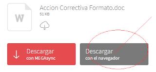 Descargar Formato acciones correctivas