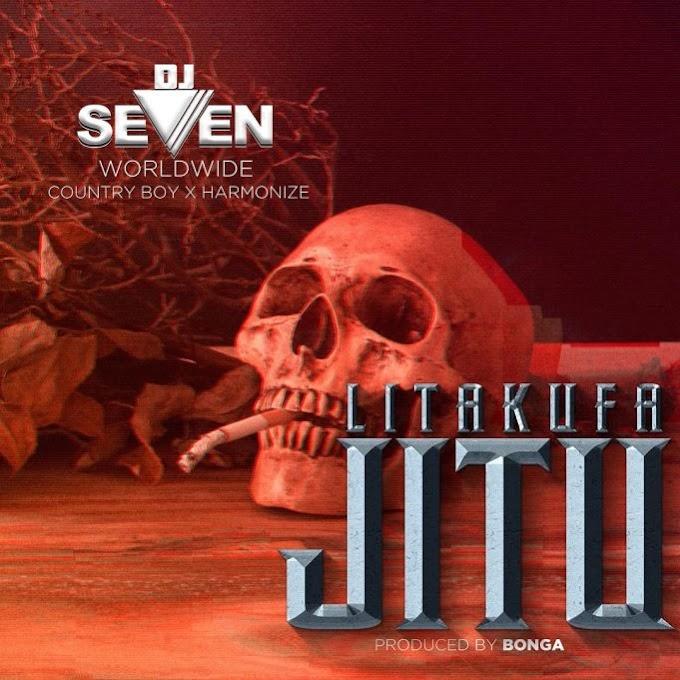 (New AUDIO) | Dj Seven Ft. Country Boy & Harmonize – Litakufa Jitu | Mp3 Download (New Song)
