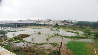 Choveu bem na tarde desta sexta-feira (21), em Picuí