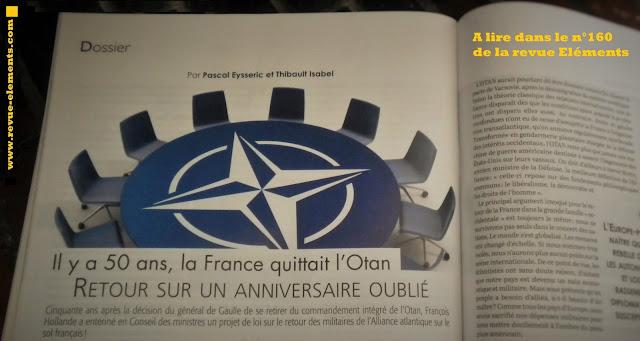 Elémentsn n°160: L'OTAN, Thibault Isabel