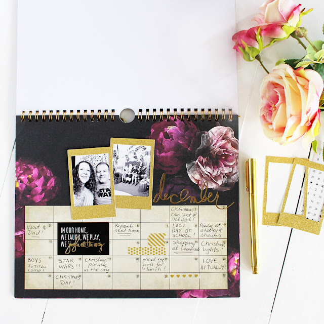 Heidi Swapp Vintage Instax Flip Calendar