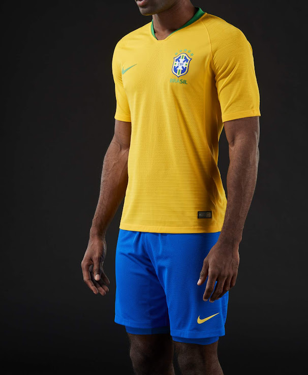 Brazil 2018 World Cup Home Kit Released