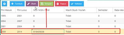 Cara update Hasil Verval Ijazah ke Dapodik