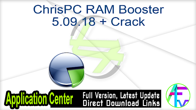 ChrisPC RAM Booster 5.09.18 + Crack