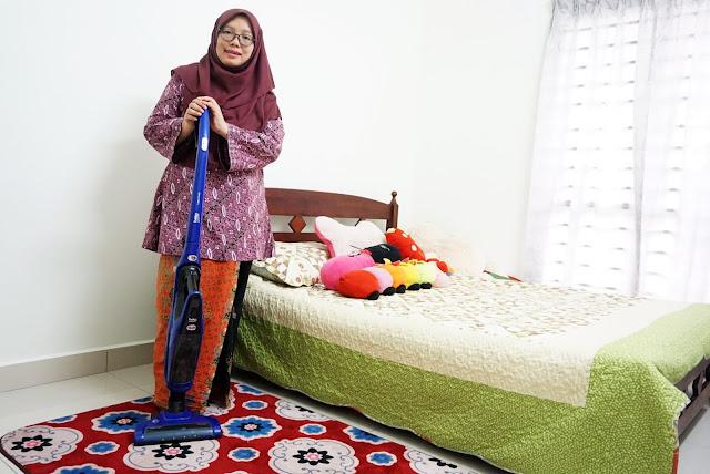 Mudah Mengemas Rumah Dengan Beko 2 In 1 Cordless Vacuum Cleaner