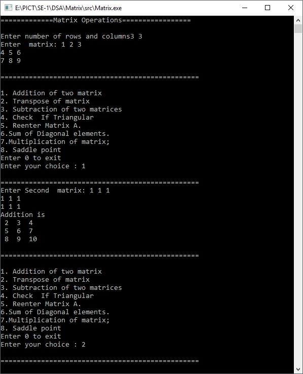 C++ Program to Multiply two Matrices by Passing Matrix to Function