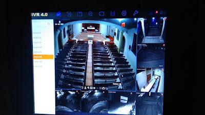 Marak Curanmor, Maraden Sinaga Sumbang CCTV ke Gereja HKBP Parapat