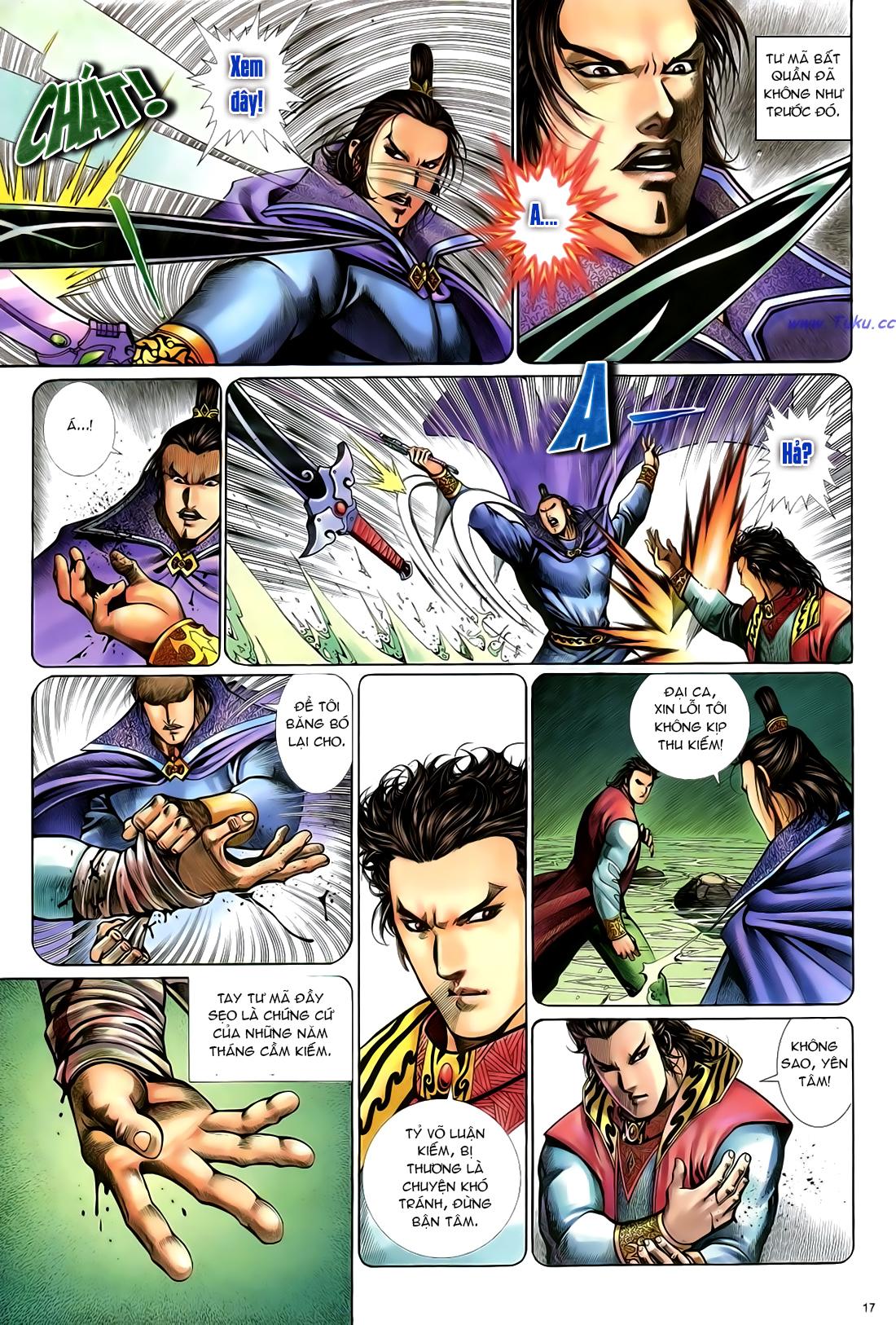 Anh hùng vô lệ Chap 24 trang 18