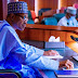 BREAKING: Buhari in a meeting with Gowon, Obasanjo, other former leaders