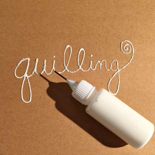 fine-tip glue bottle