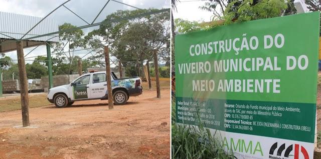 Senador Canedo: Construção de Viveiro Municipal viabiliza arborização da cidade