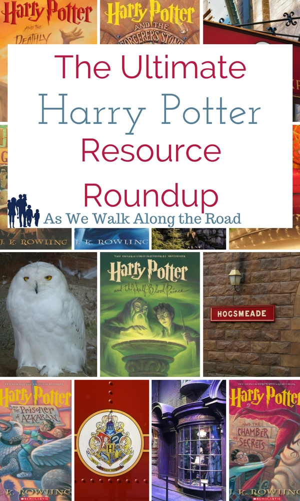 Harry Potter homeschool resources