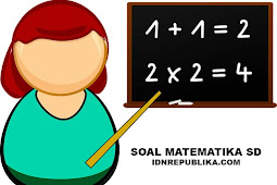 Soal matematika kelas 6 beserta kunci jawaban