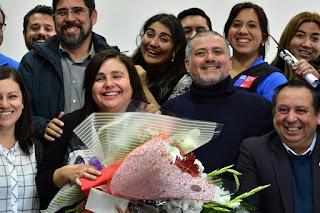 Periodistas de Magallanes reconocen trayectoria de Paula Viano, Fabiola García y Elia Simeone