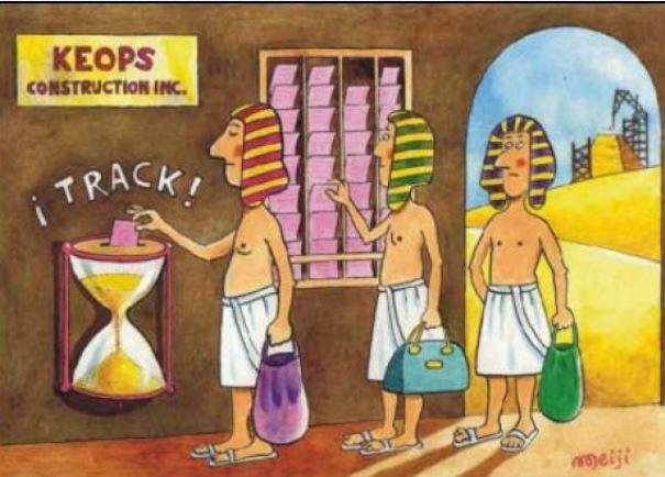 humor grafico egipto fichar entradas