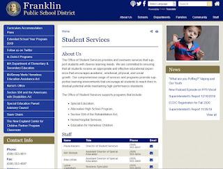 Franklin MA: School Committee - Student Service Workshop - Jan 28, 2020