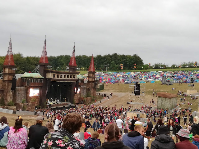 Boomtown fair Festival 2018 lion's den stage