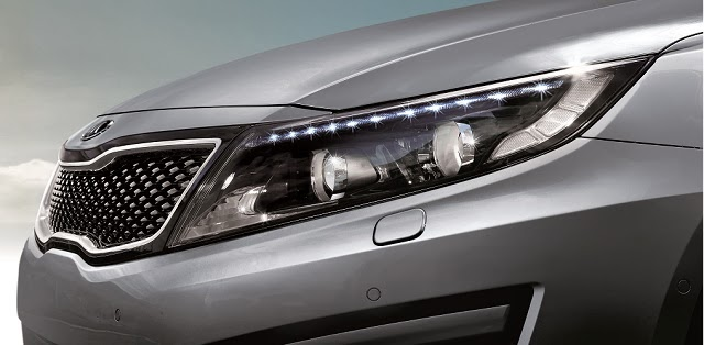 Extensive usage of LEDs in the new Kia Optima K5 Facelifted model