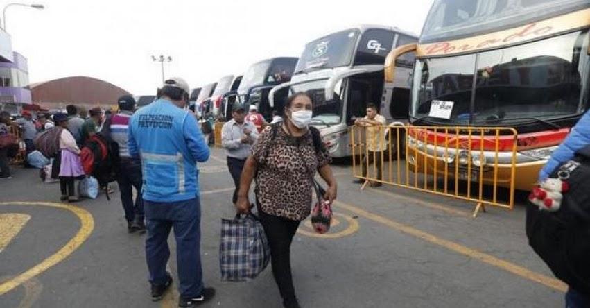 Está restringido los vuelos y viajes terrestres en Áncash, Pasco, Huánuco, Junín, Huancavelica, Ica, Apurímac, Lima Provincias, Lima Metropolitana y el Callao [NIVEL EXTREMO]