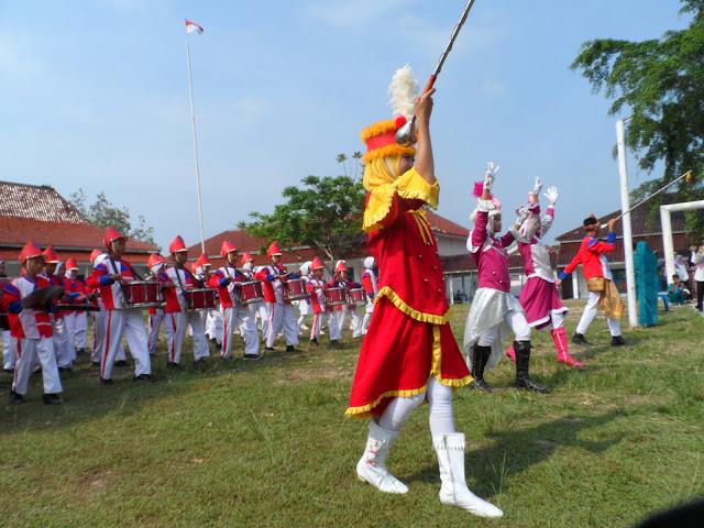 Lomba Marching Band Semarakkan Dies Natalis SMANDALAN
