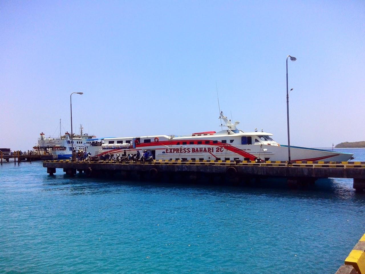 Kapal Express Bahari Jepara Karimunjawa Murah