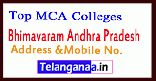 Top MCA Colleges in Bhimavaram Andhra Pradesh