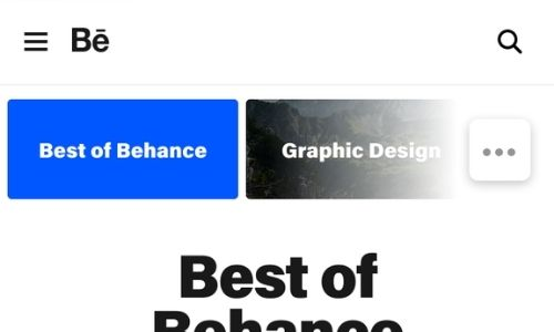infographic submission in Behance.net