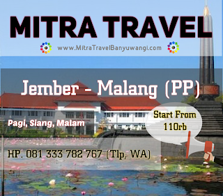 TRAVEL JEMBER MALANG (PP)