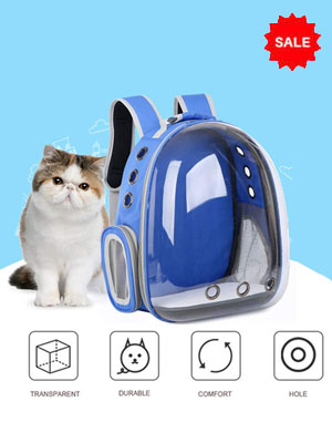 Backpack for pets: Puppy Kitty Breathable Case for Travel
